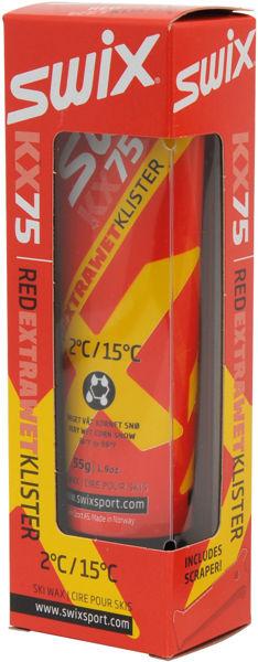 Swix KX75 Rød Extra Våtsnø Klister