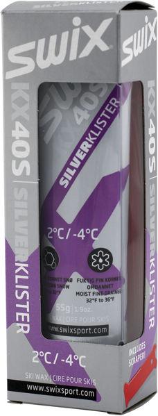 Swix KX40S Fiolett Sølv Klister