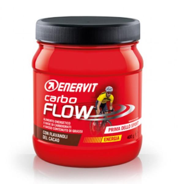 Enervit Carbo Flow Sjokolade 400g