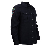 Amundsen Safari Linen Shirt Garment Dyed W