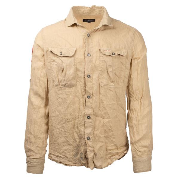 Amundsen Safari Linen Shirt Garment Dyed
