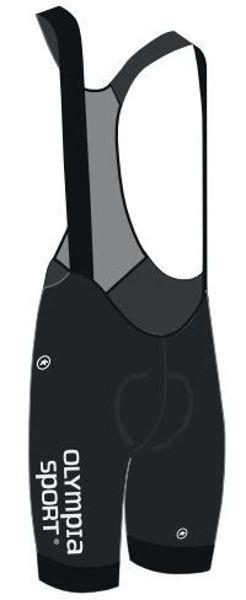Bilde av Assos RS Summer Bib Olympia Sport Womens Black