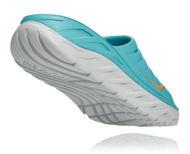 Bilde av Hoka Ora Recovery Slide 2 Aquarelle/Blazing Orange