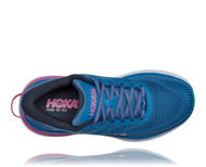 Bilde av Hoka Bondi 7 W Valarta Blue/Phlox Pink