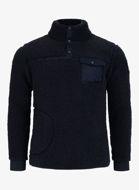 Bilde av Pelle P Sherpa Sweater Dark Navy Blue