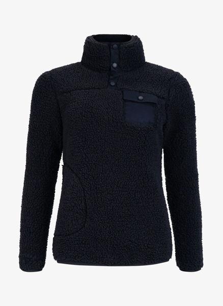 Bilde av Pelle P Sherpa Sweater W Dark Navy Blue