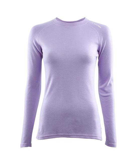 Bilde av Aclima WarmWool Shirt Crew Neck W Purple Rose